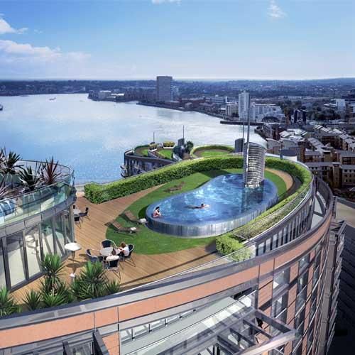 Providence Green Apartments: New Providence Wharf